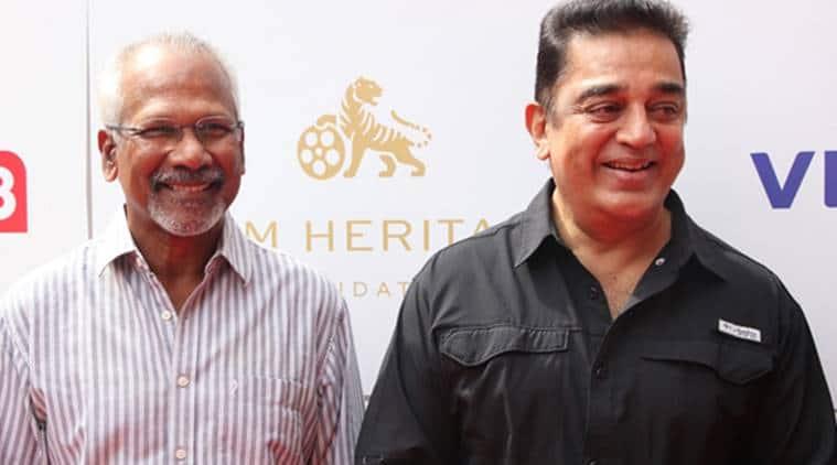 Mani Ratnam and Kamal Haasan photos