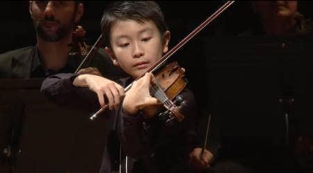 violin, Menuhin Competition, boy winning Menuhin Competition, boy performance in Menuhin Competition, indian express, indian express news