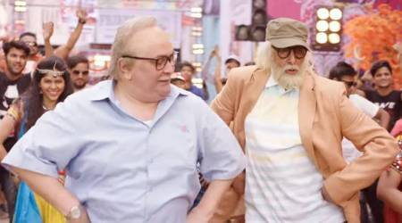 102 Not Out song Badumbaaa starring Amitabh Bachchan and Rishi Kapoor photos