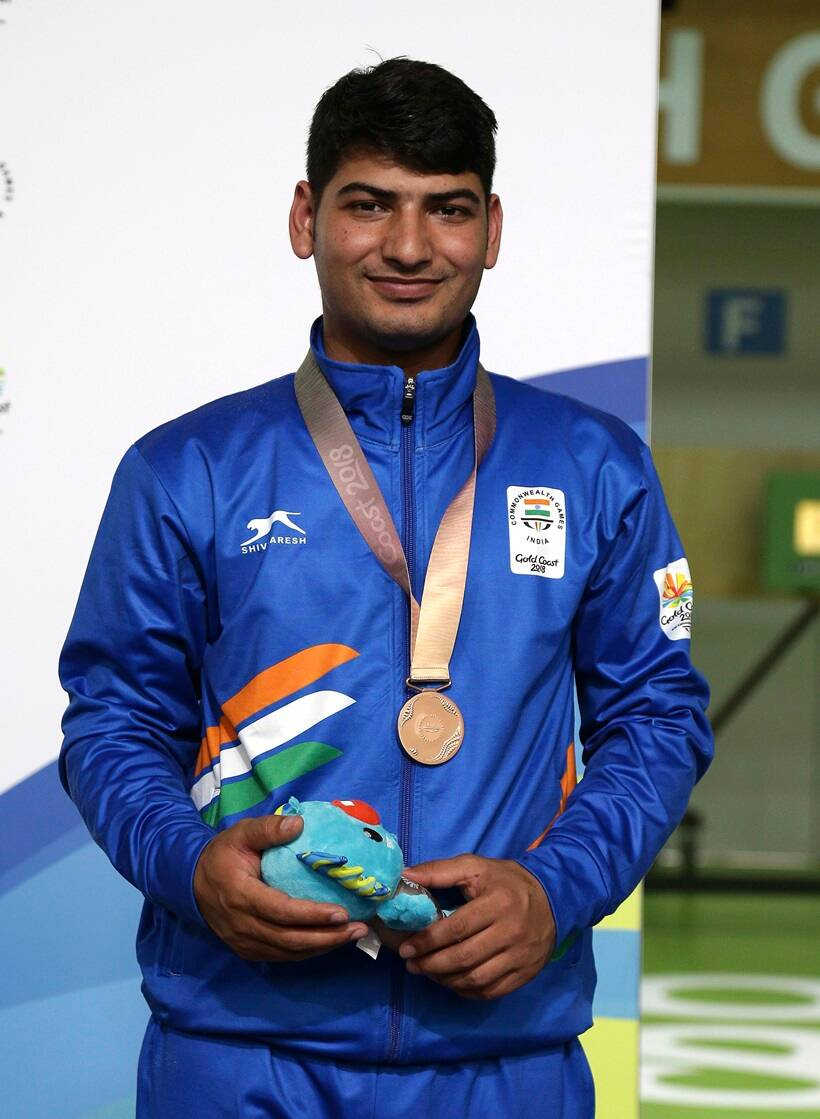 CWG 2018 Medal India India Om Mitharval