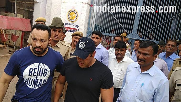 Salman Khan at Jodhpur Central Jail