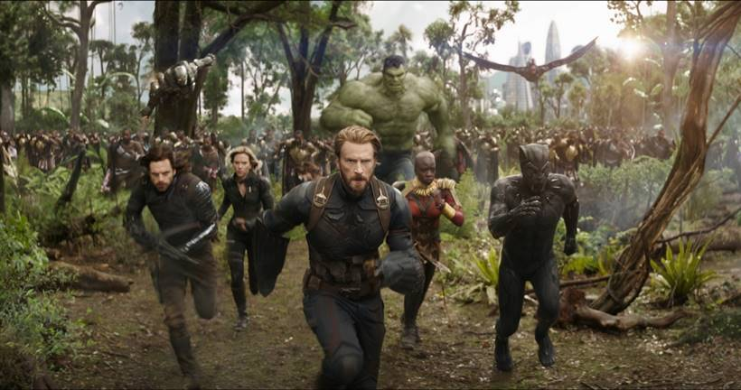 Black Panther, Captain America, Black Widow, Bucky Barnes, Hulk and others will fight together in Avengers: Infinity War