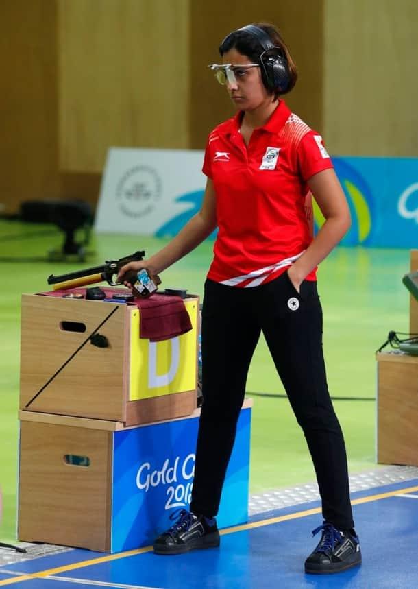 CWG 2018 Medal India Heena Sidhu