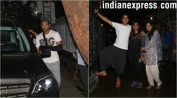 disha patani, ranveer singh, dhadak wrap up phoros. celeb spotting latest photos