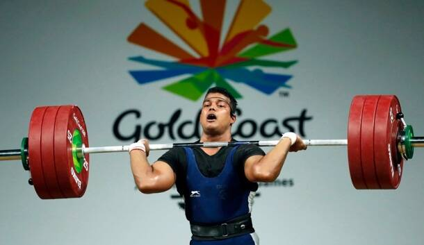 CWG 2018 Medal India RV Rahul