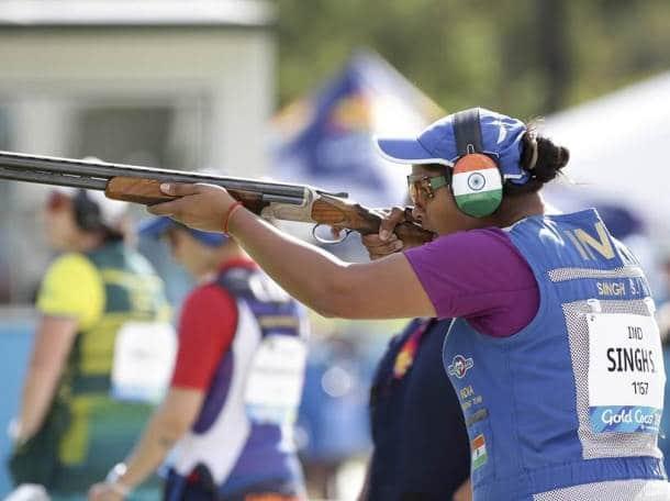 CWG 2018 Medal India Shreyasi Singh