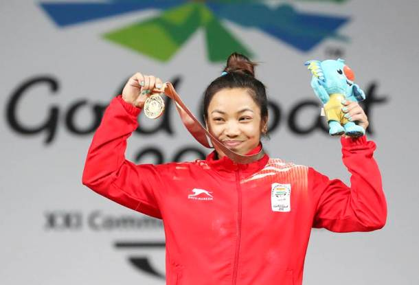 CWG 2018 Medal India Mirabai Chanu