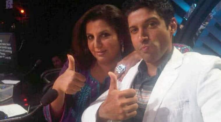 Farhan Akhtar and Farah Khan photos