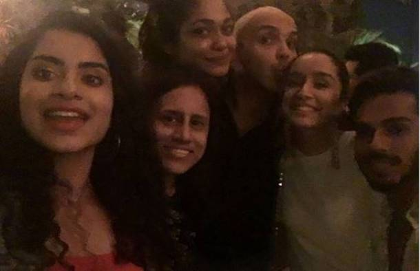 shraddha kapoor at shaan Muttathil birthday
