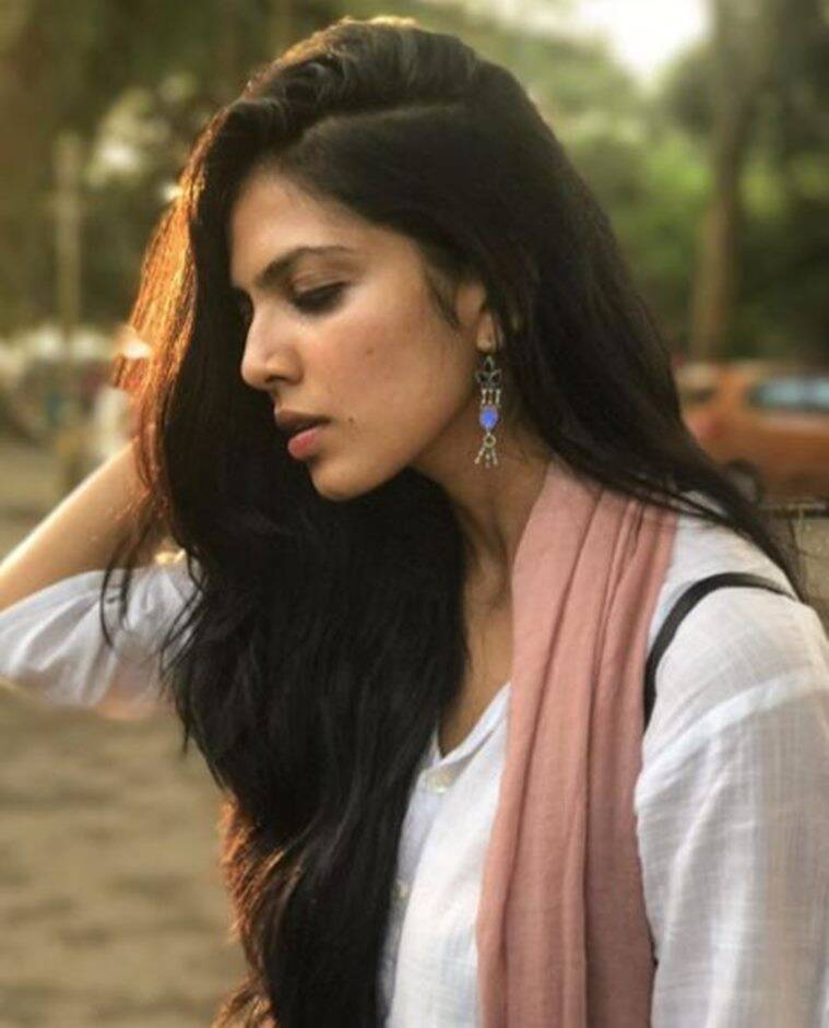 Malavika Mohanan simple look