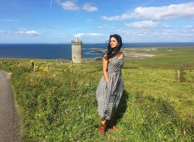 Malavika Mohanan's holiday