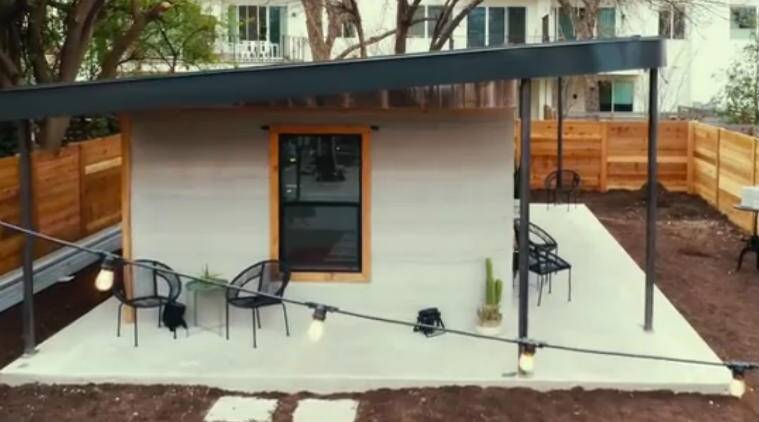Watch video: This 3D printer can create a whole house in just 24 hours