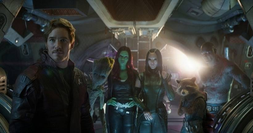 Guardians of the Galaxy will team up with the Avengers in Avengers: Infinity War