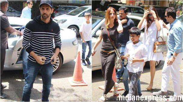 Hrithik roshan with sussanne khan