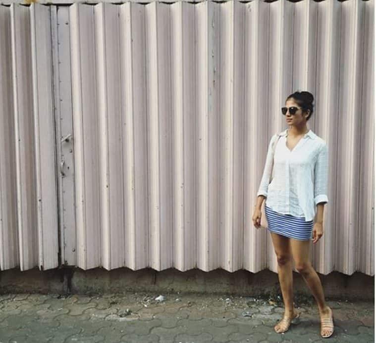 Malavika Mohanan in shades