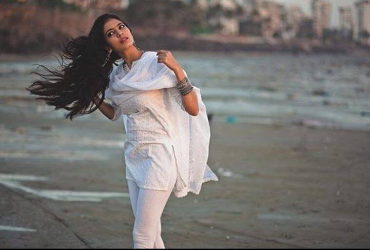 Malavika Mohanan in white suit