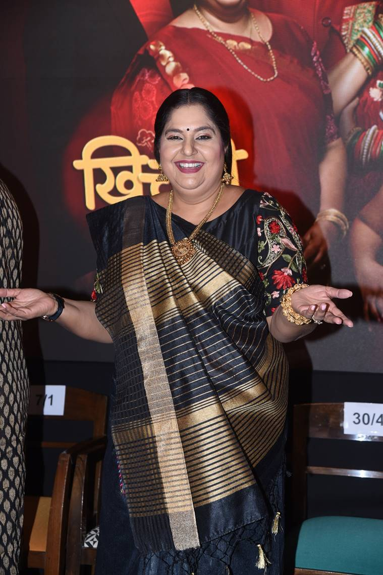 Vandana Pathak at Khichdi launch