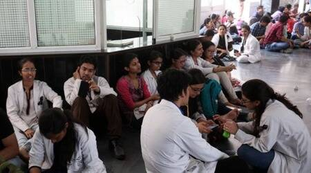AIIMS resident doctors on strike after colleague slapped by senior, OPD services hit