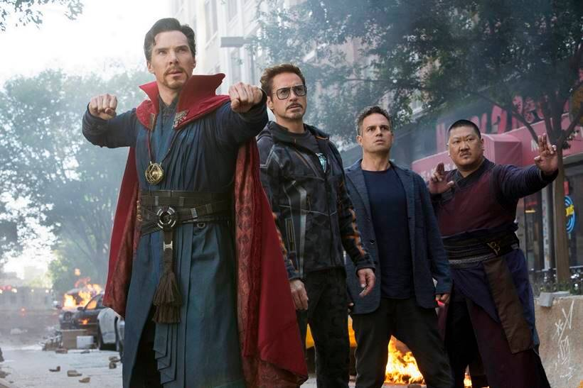 Doctor Strange, Iron Man and Hulk will form one team in Avengers: Infinity War