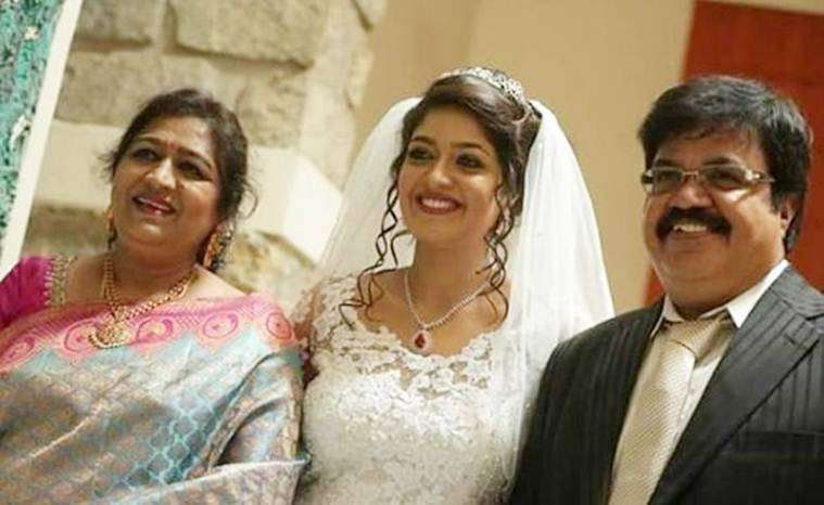 Meghna Raj parents
