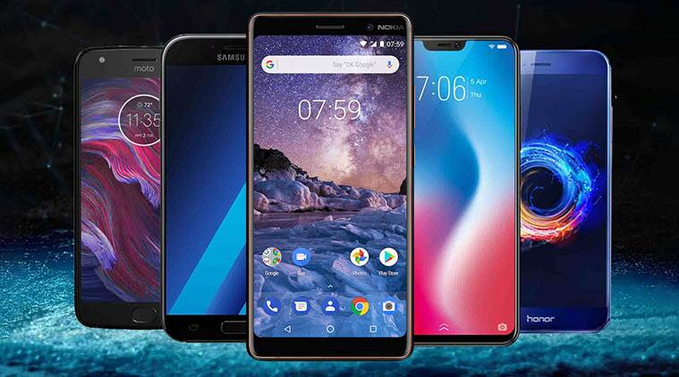 Top 5 best class smartphones under 25,000 in 2018 june - techallby asif