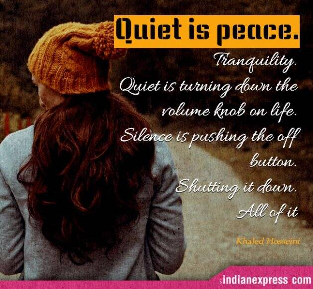 inspirational quotes, thoughtful quotes, quotes on silence, silence quotes, motivational quotes on silence, indian express, indian express news