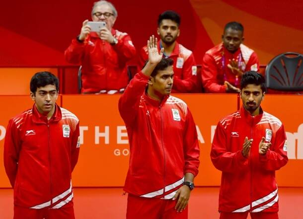 CWG 2018 Medal India India Table Tennis