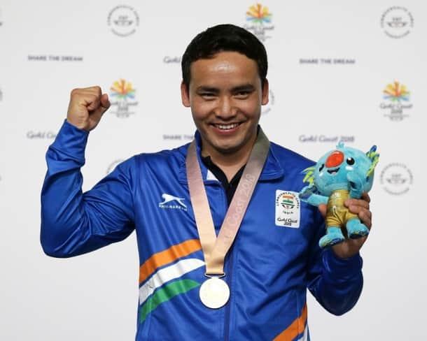 CWG 2018 Medal India India Jitu Rai