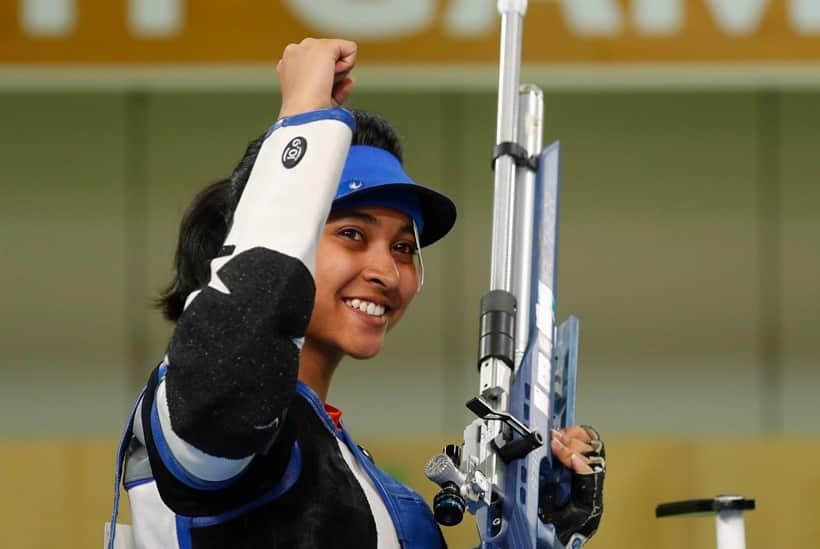 CWG 2018 Medal India India Mehuli Ghosh