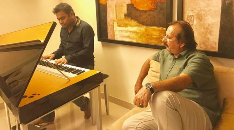 A.R. Rahman and Majid Majidi