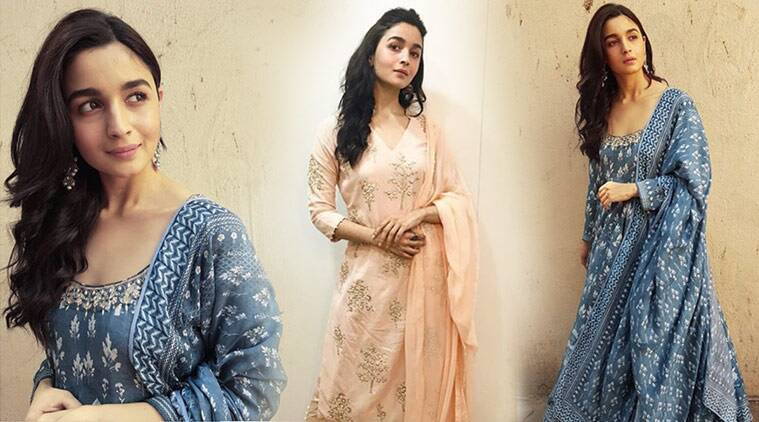 Alia Bhatt, Alia Bhatt Raazi suits, Alia Bhatt Raazi promotions, Alia Bhatt latest photos, Alia Bhatt fashion, Alia Bhatt ethnic fashion, Alia Bhatt summer fashion, Alia Bhatt Raazi, indian express, indian express news