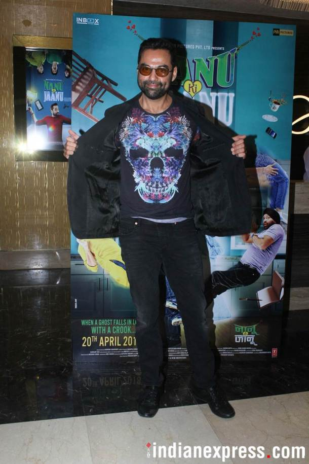 Abhay Deol Special screening of Nanu Ki Jaanu