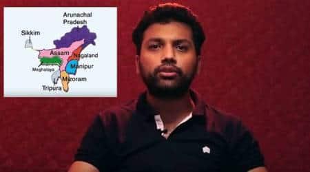 Northeast, northeast of India, Comedian Abhineet Mishra, Comedian Abhineet Mishra With Love from Northeast