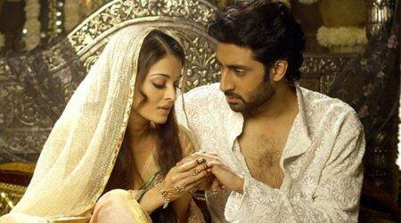 As Abhishek Bachchan-Aishwarya Rai celebrate their 11th wedding anniversary, here's looking back at their cinematic journey