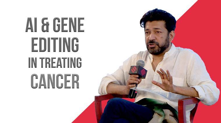 Express Adda: Dr. Siddhartha Mukherjee On How AI & Gene Editing Can Help Prevent Cancer