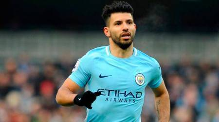 Sergio Aguero says pain-free, in 'peak' condition after knee surgery