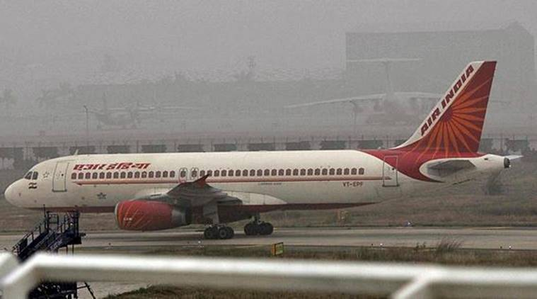 Window panel falls off during Air India flight