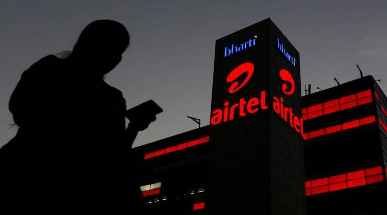 Bharti Airtel, Bharti Airtel revenue, Bharti Airtel quartely report, Bharti Airtel bebt, indian express