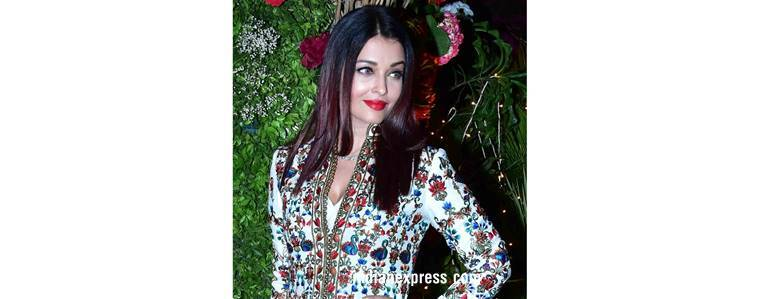 Aishwarya Rai Bachchan, Aishwarya Rai Bachchan latest photos, Aishwarya Rai Bachchan fashion, Sonam Kapoor, Sonam Kapoor fashion, Sara Ali Khan, Sara Ali Khan fashion, sandeep khosla niece wedding, indian express, indian express news
