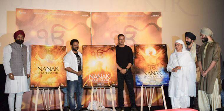 Akshay Kumar at trailer launch of Nanak Shah Fakir photos