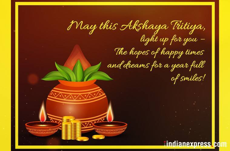 Akshaya Tritiya, Akshaya Tritiya 2018, Akshaya Tritiya 2018 date, Happy Akshaya Tritiya 2018, Happy Akshaya Tritiya Images Happy Akshaya Tritiya Quotes, Akshaya Tritiya Images, Happy, Akshaya Tritiya SMS, Happy Akshaya Tritiya Status, Happy, Akshaya Tritiya Messages, Happy Akshaya Tritiya Pictures, Happy Akshaya Tritiya Pics, indian express, indian express news