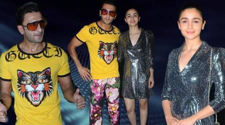 Gully Boy wrap-up party: Alia Bhatt stuns in LBD, Ranveer Singh leaves us gaping in floral pants