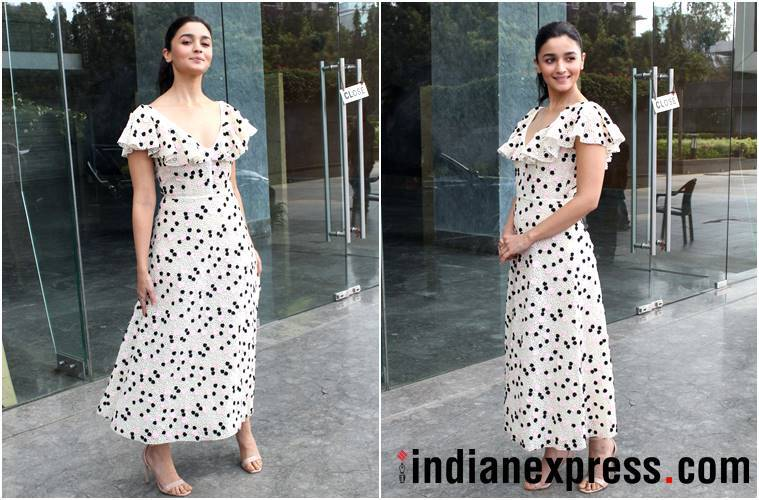 Alia Bhatt, raazi promotions, Alia Bhatt raazi promotions, house of kotwara, Alia Bhatt fashion, Alia Bhatt style, Alia Bhatt latest news, Alia Bhatt latest photos, Alia Bhatt images, Alia Bhatt pictures, Alia Bhatt updates, celeb fashion, bollywood fashion, indian express, indian express news
