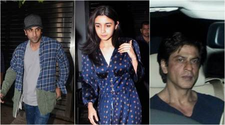 Alia Bhatt, Ranbir Kapoor and Shah Rukh Khan come together for a dinner at Zoya Akhtar's house