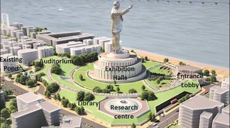 Ambedkar Memorial construction awaits CZMP nod from Centre