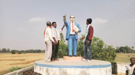 Why the colour blue is associated with Dr BR Ambedkar
