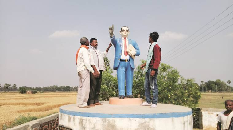 Over half-a-dozen incidents of Ambedkar's statues being vandalised have taken place in various parts of the state over the last one month.