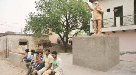 A day in the life of Ambedkar statue: When statues needsoldiers