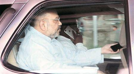 BJP chief Amit Shah meets RSS top brass in Nagpur
