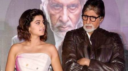 Amitabh Bachchan and Taapsee Pannu to reunite for Sujoy Ghosh's The Invisible Guest remake?